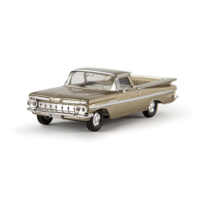HO Scale: 1959 Chevrolet El Camino - Gold