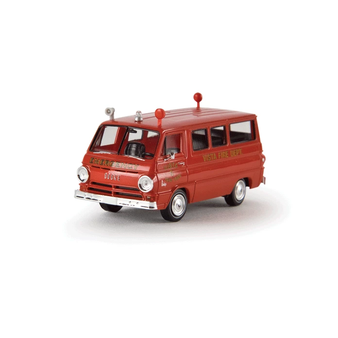 HO Scale: 1964 Dodge A 100 Cargo Van - Vista, New York Fire Rescue
