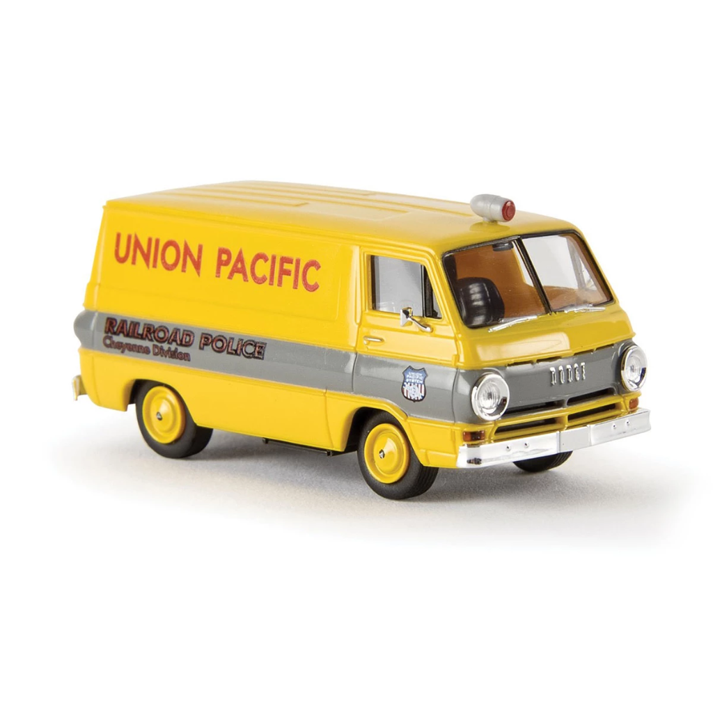 HO Scale: 1964 Dodge A 100 Cargo Van - Union Pacific