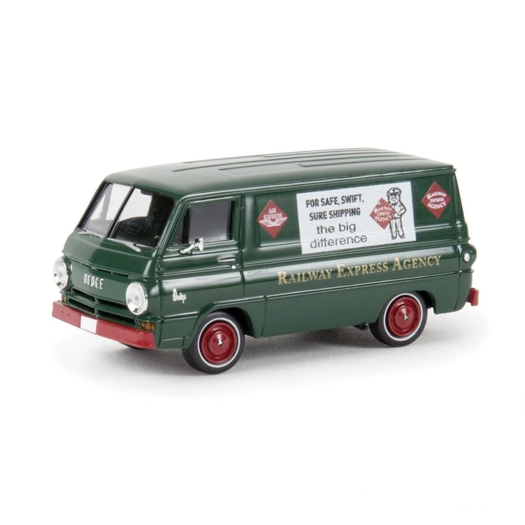 HO Scale: 1964 Dodge A 100 Cargo Van - Railway Express Agency