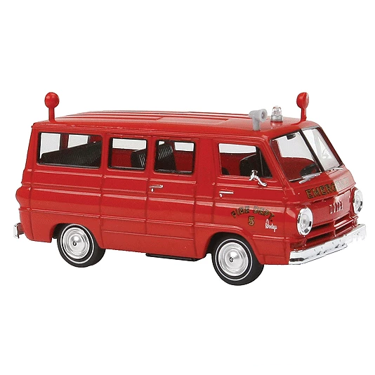 HO Scale: 1964 Dodge A 100 Passenger Van - Vista, New York Fire Rescue