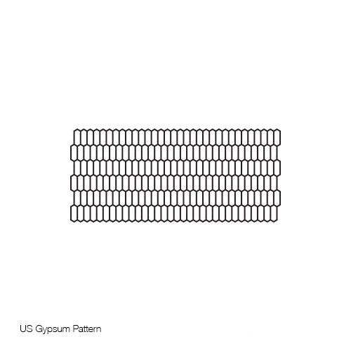 HO Scale: 40' U.S. Gypsum Running Boards