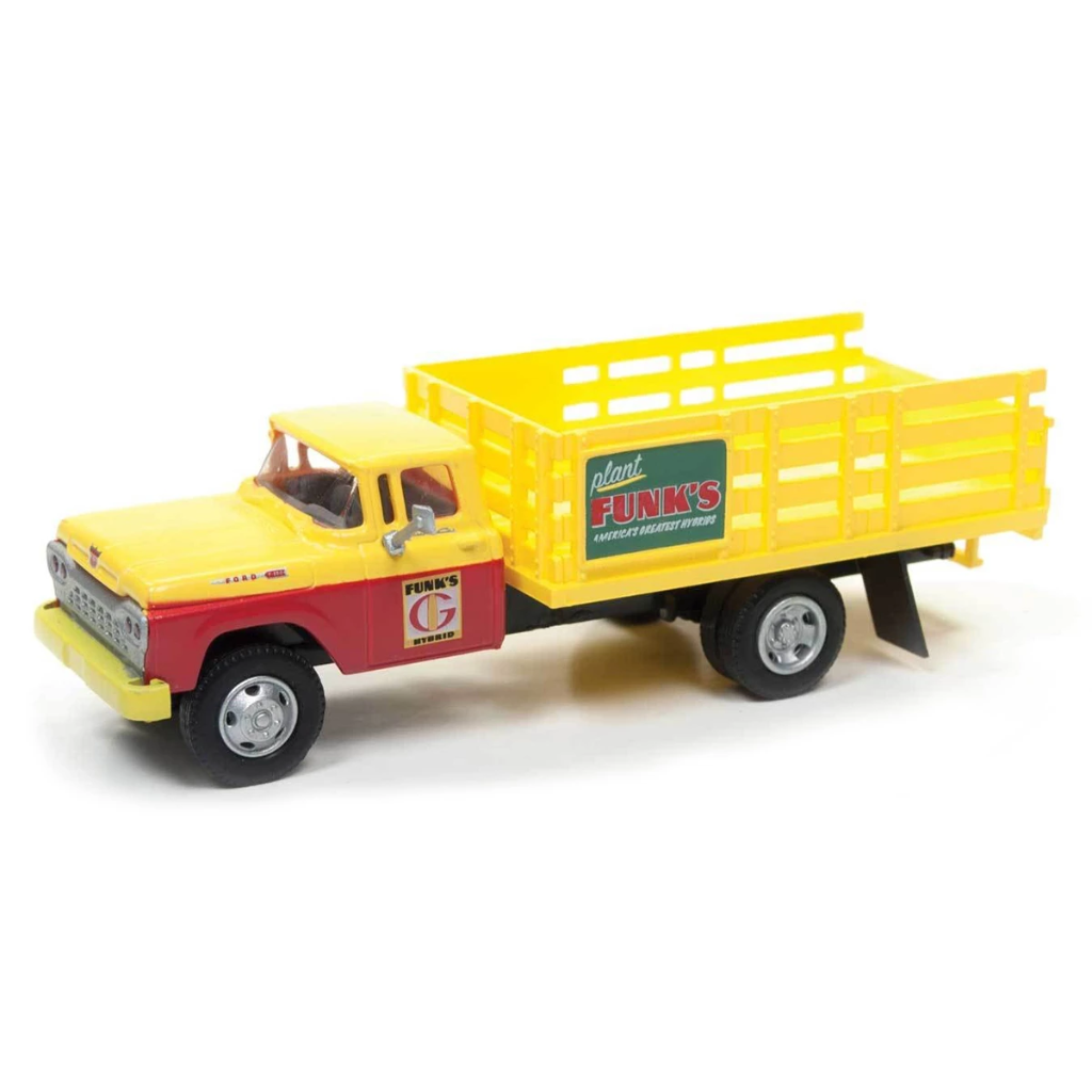 HO Scale: 1960 Ford F-500 Stakebed Delivery Truck - Funks Hybrids
