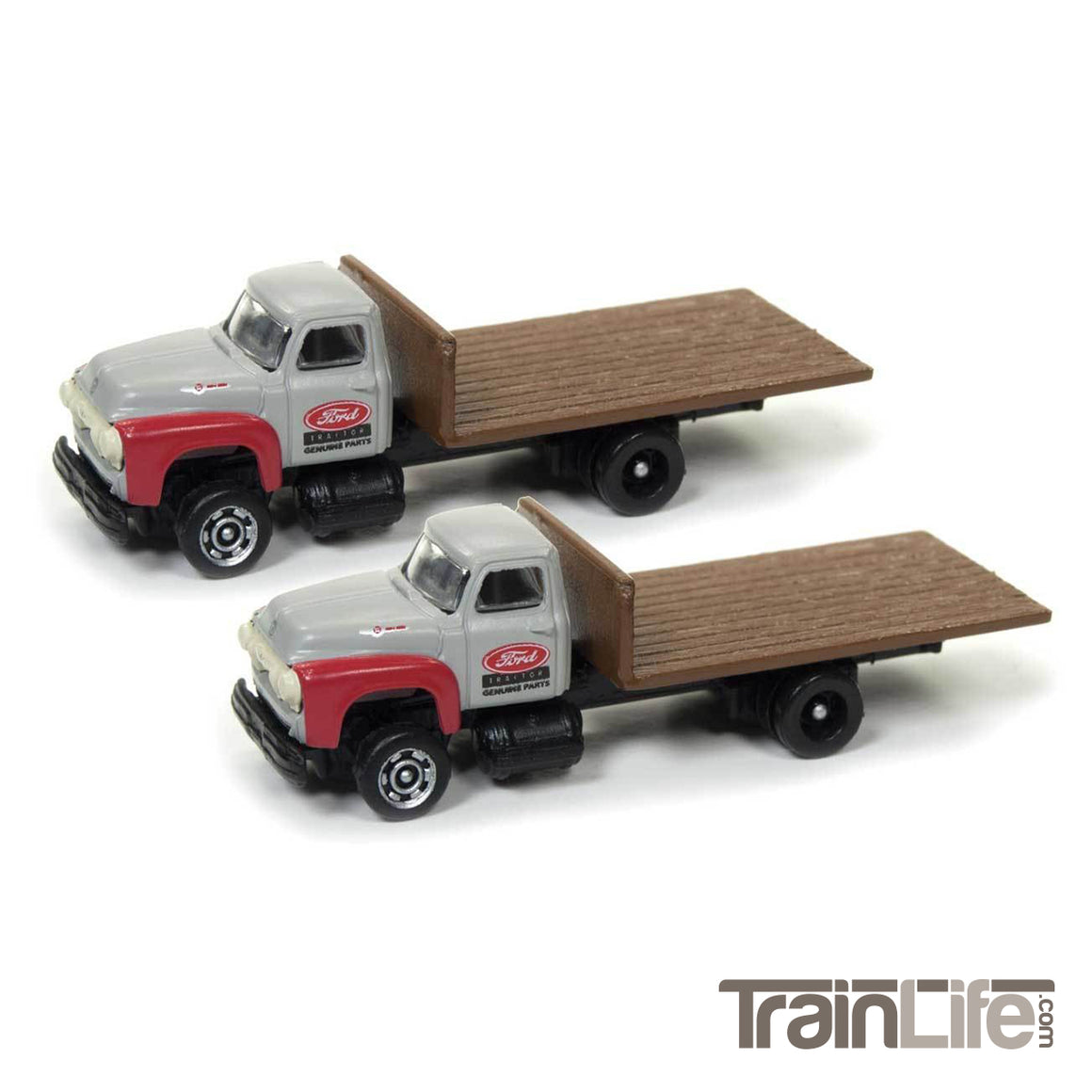 N Scale: 1954 Ford Flatbed Truck - Ford Parts