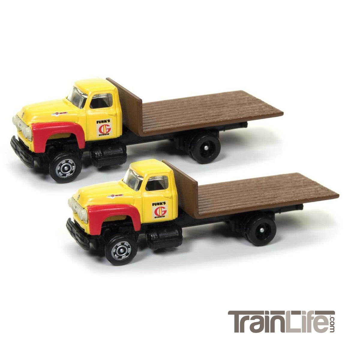 N Scale: 1954 Ford Flatbed Truck - Funks Hybrids
