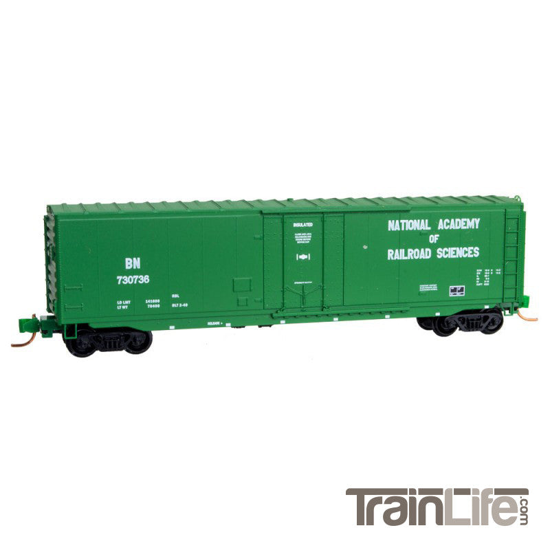 N Scale: 50' Standard Boxcar - Burlington Northern