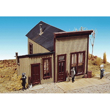 HO Scale: Newspaper Office - Kit