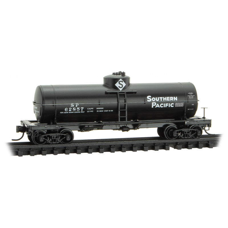 N Scale: 39' Single Dome Tank Car - Southern Pacific