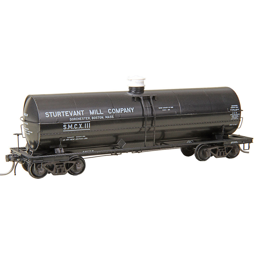 HO Scale: ACF 11,000 Gallon Insulated Tank Car - Sturtevant Mill Comany