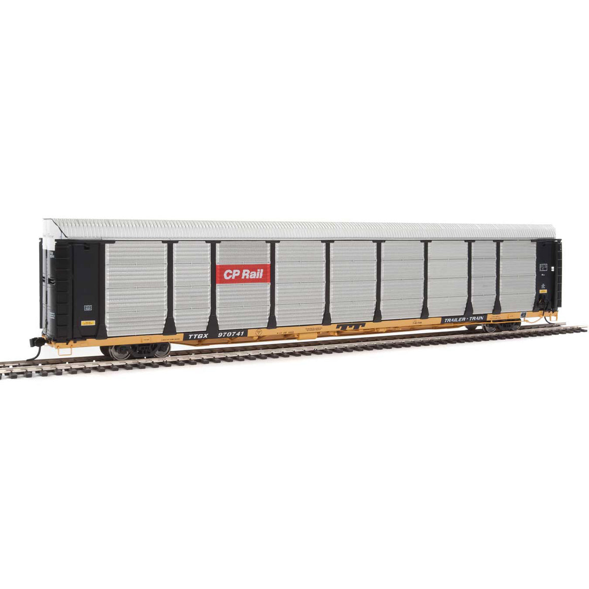 89' Thrall Bi-Level Auto Carrier - Canadian Pacific