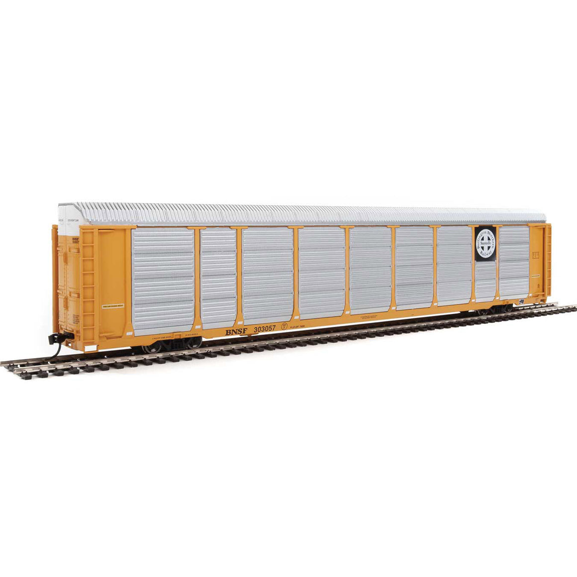 HO Scale: 89' Thrall Tri-Level Auto Carrier - BNSF