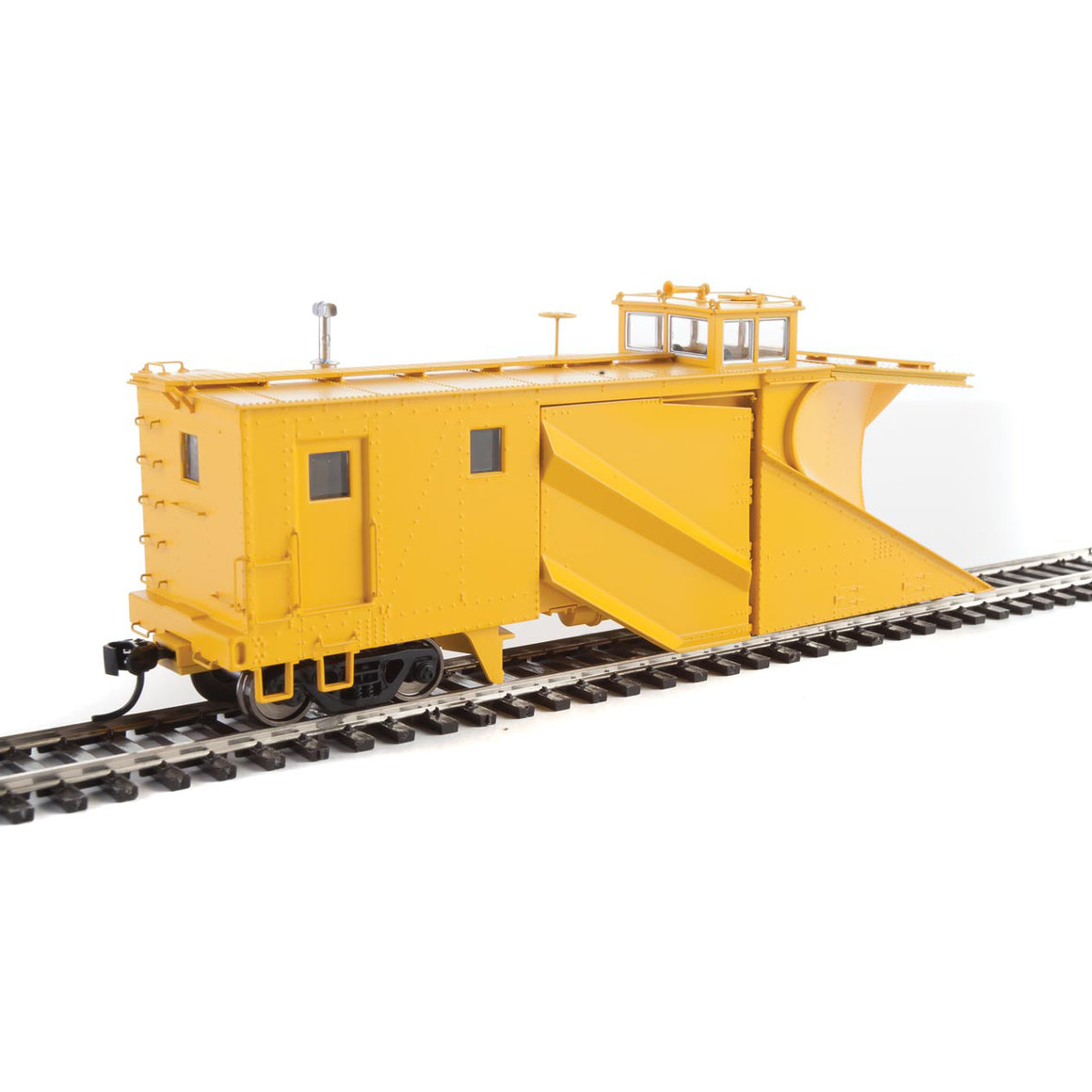 HO Scale: Russell Snowplow - Yellow Unlettered