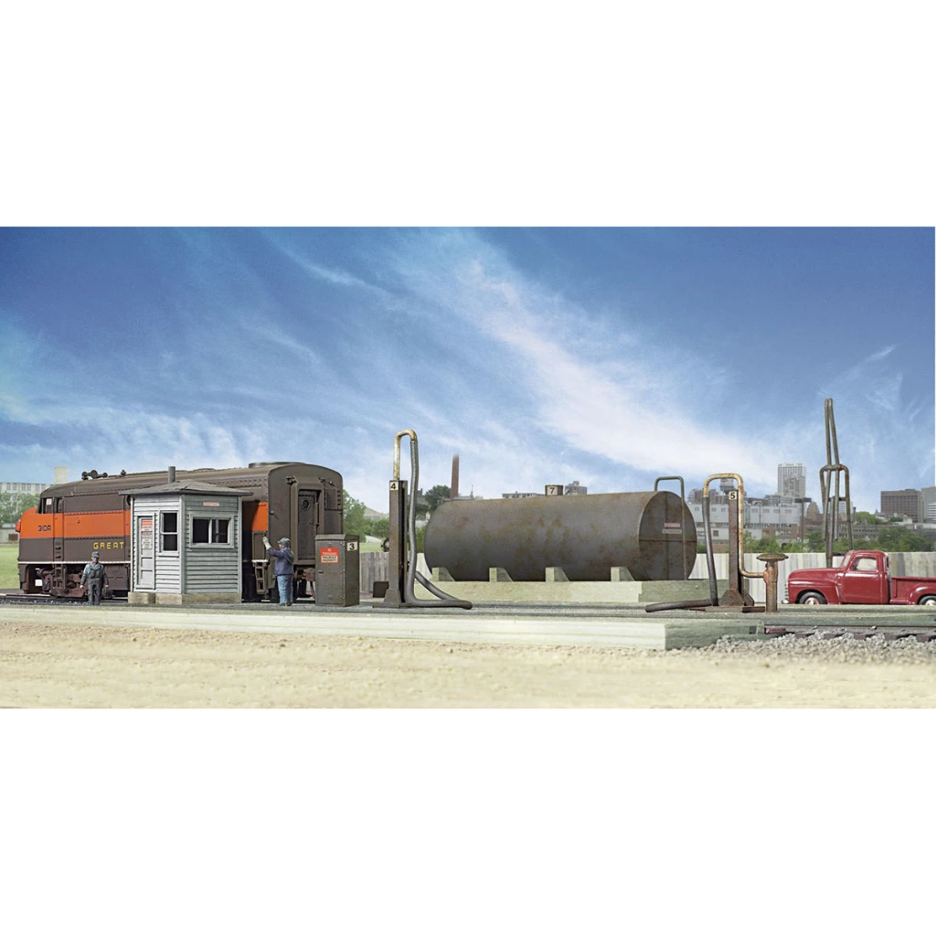 HO Scale: Diesel Fueling Facility - Kit