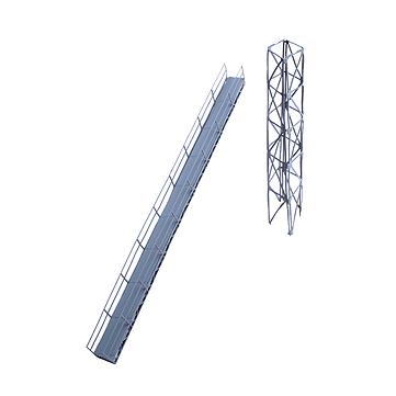 HO Scale: Conveyor Bridge and Support Tower - Kit
