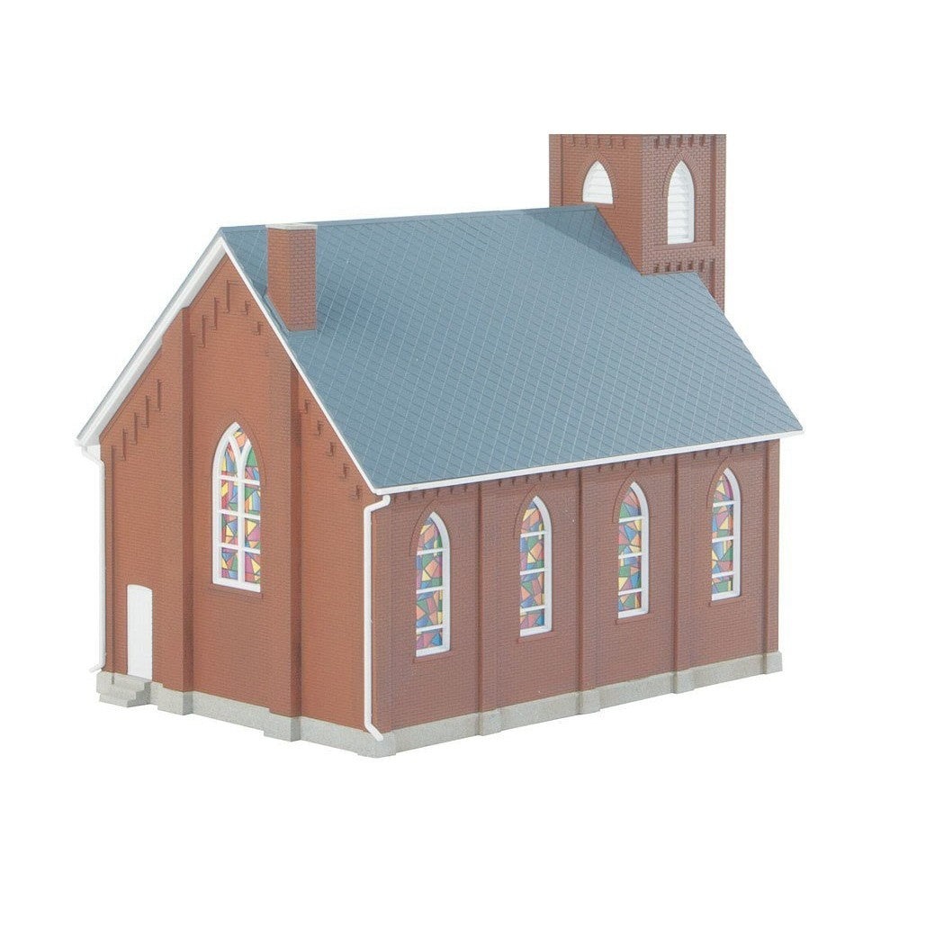 HO Scale: Brick Church Kit