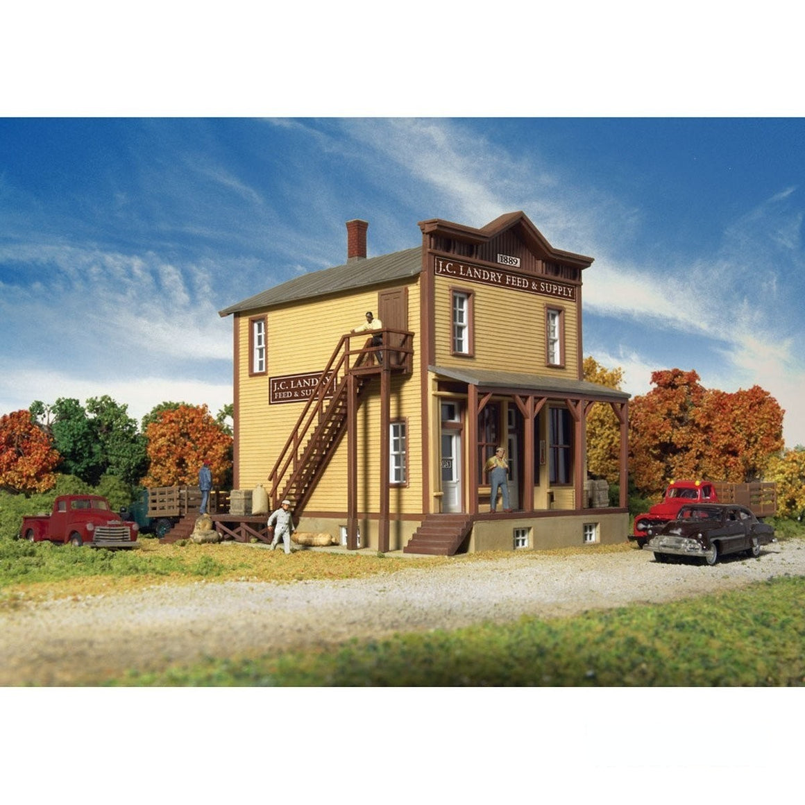 HO Scale: JC Landry Feed & Supply