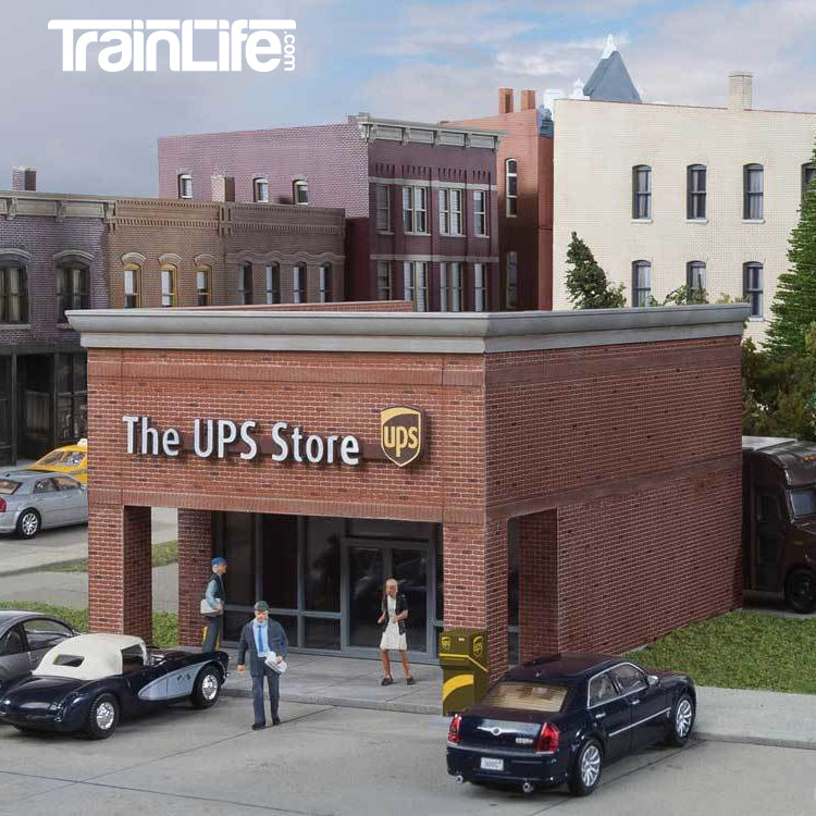 HO Scale: The UPS® Store - Kit