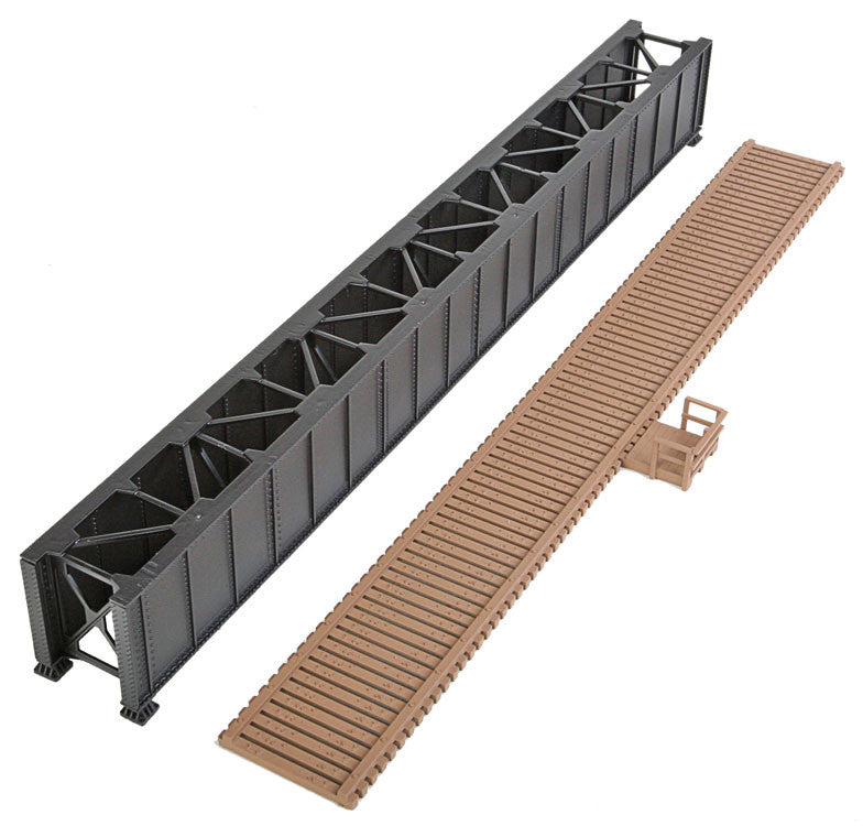 HO Scale: 90' Single-Track Deck Girder Bridge