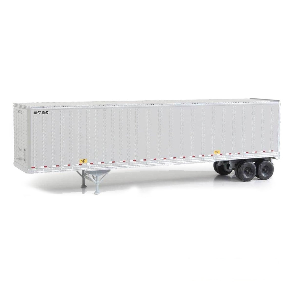 HO Scale: 45' Stoughton Trailer 2-Pack - UPS