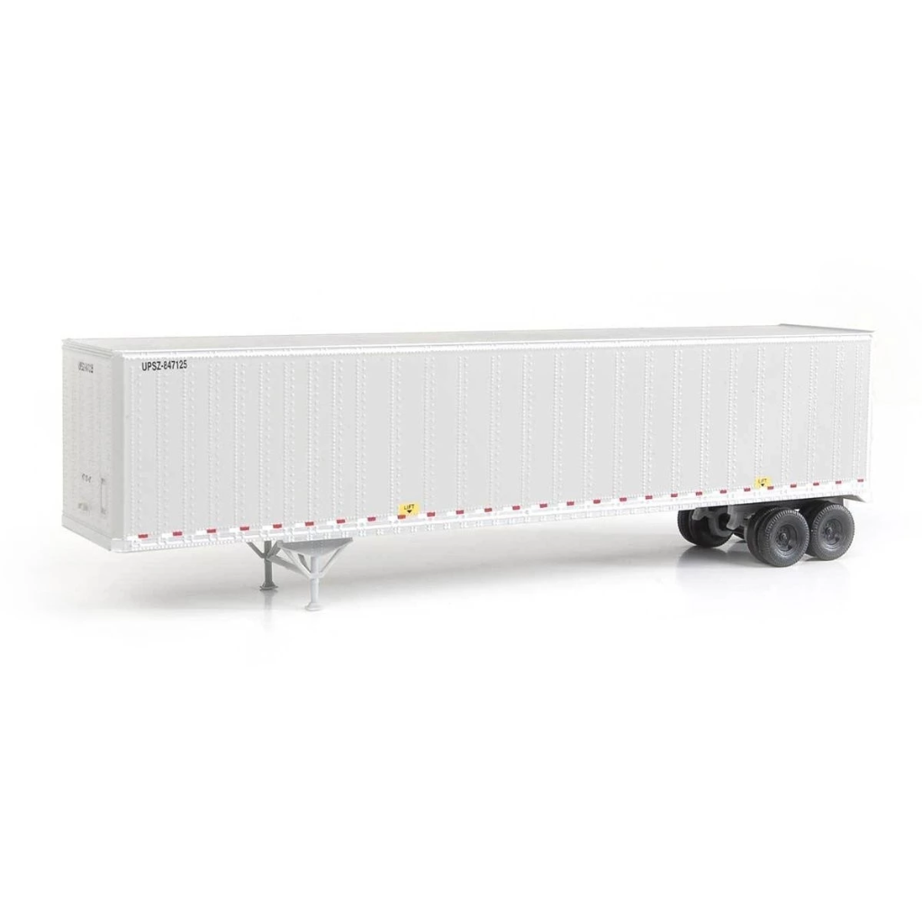 HO Scale: 48' Stoughton Trailer 2-Pack - UPS
