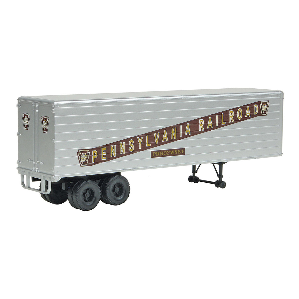 HO Scale: 35' Fluted-Side Trailer - Pennsylvania - 2 Pack