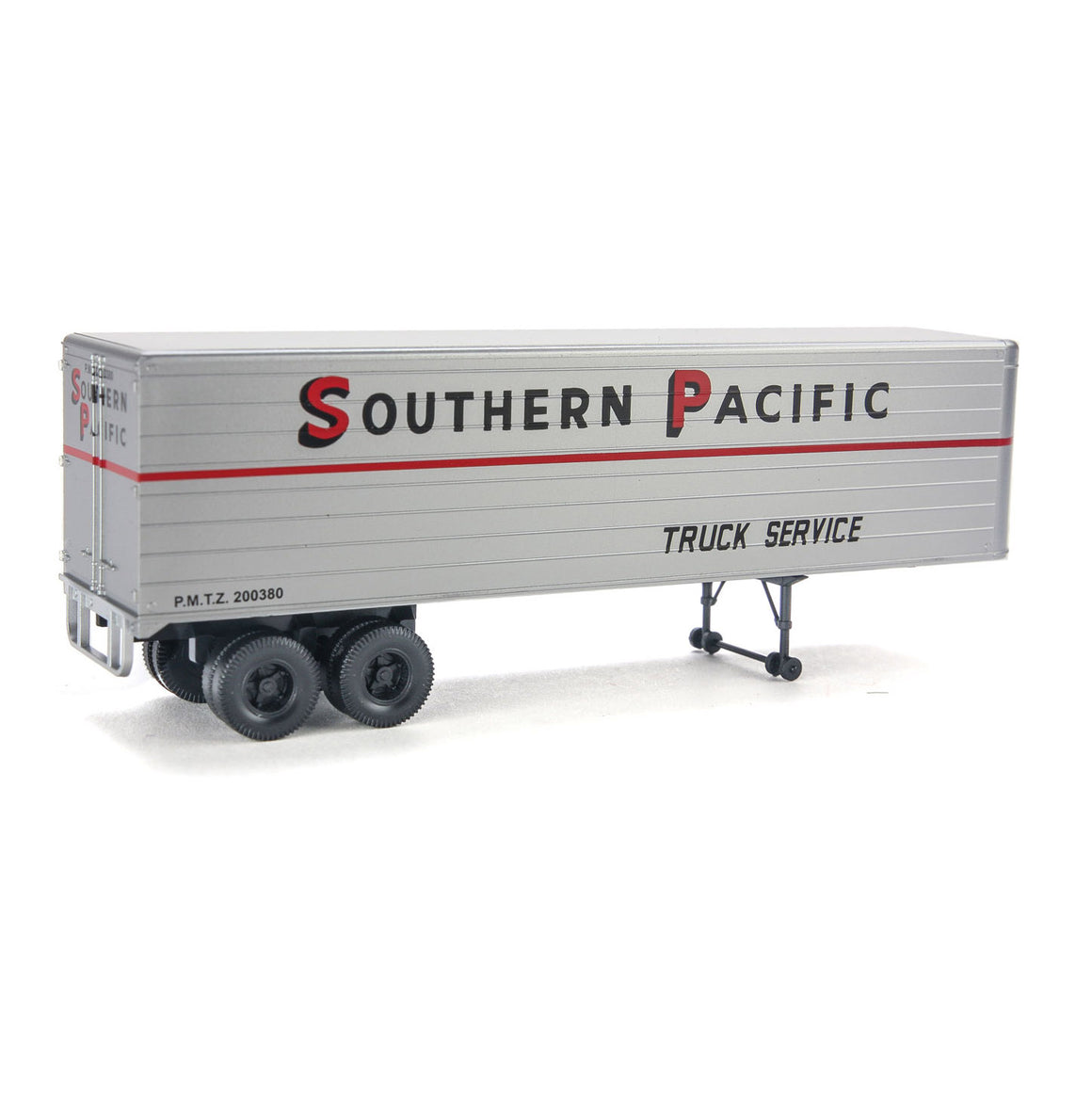 HO Scale: 35' Fluted-Side Trailer - Southern Pacific - 2 Pack