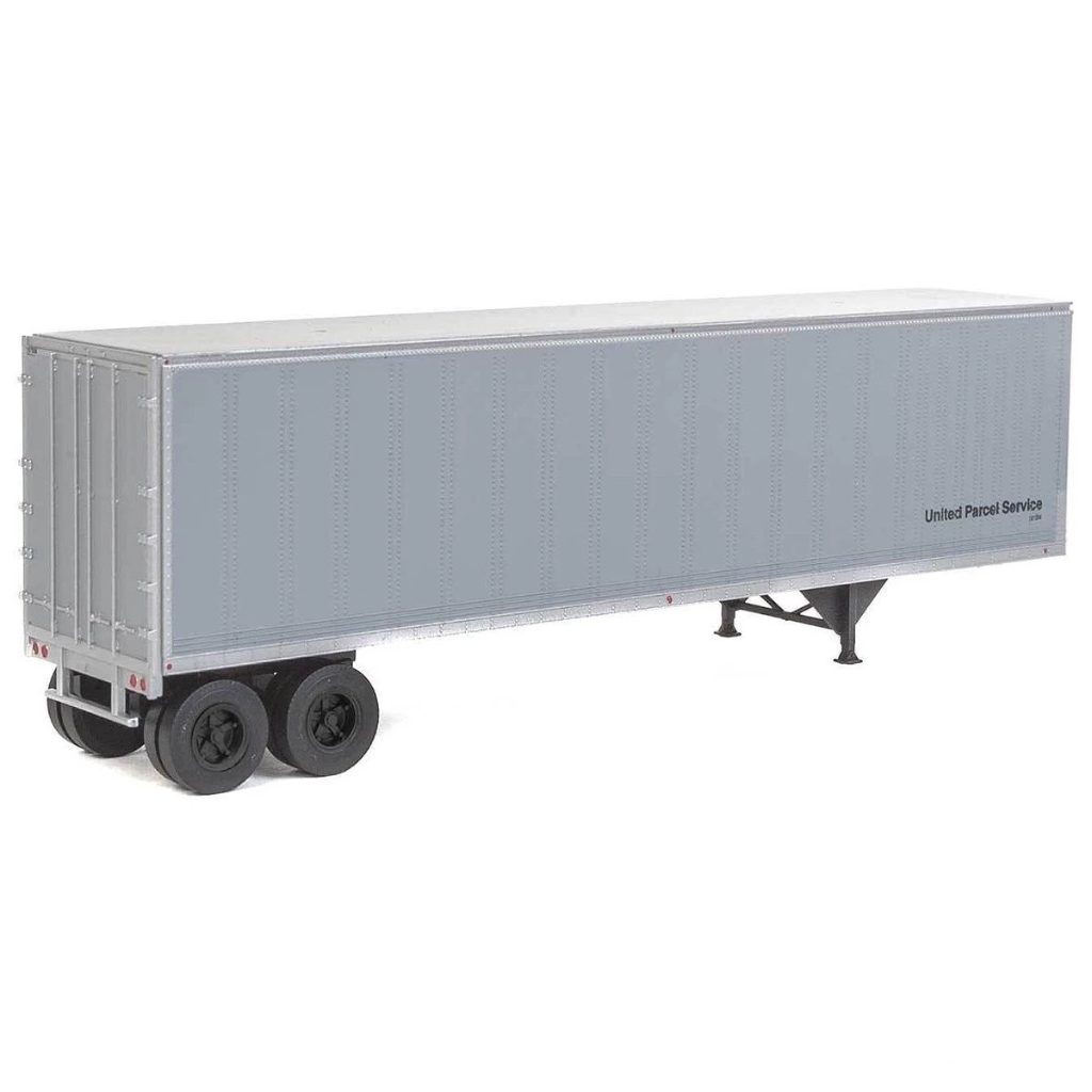 HO Scale: 40' Trailmobile Trailer 2-Pack - UPS