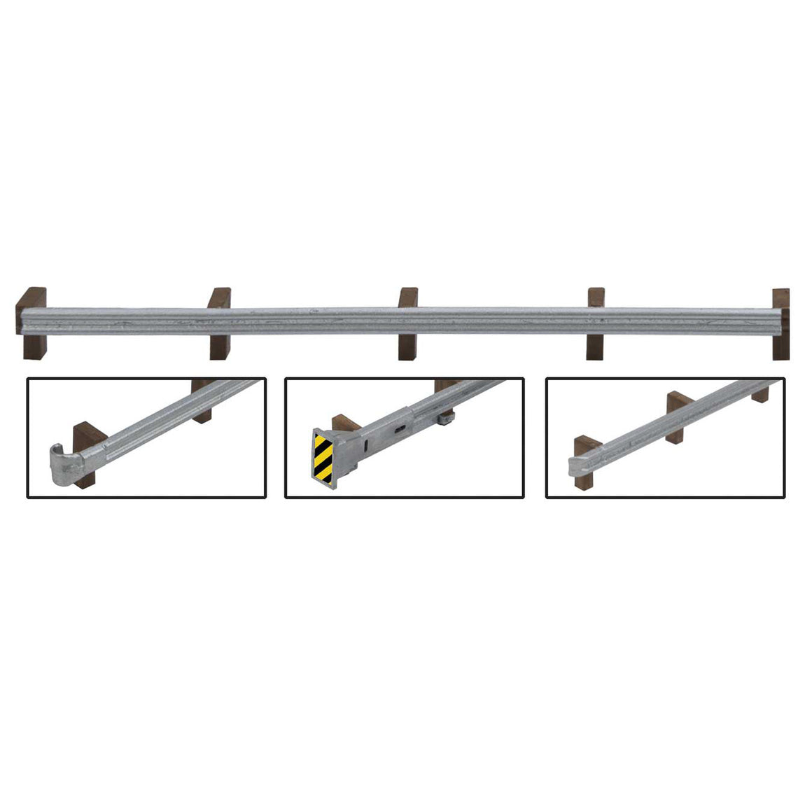 HO Scale: Roadway Guardrails - Kit