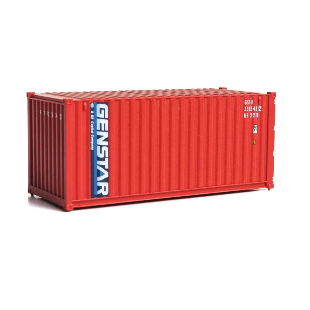 HO Scale: 20' Corrugated Container - Genstar