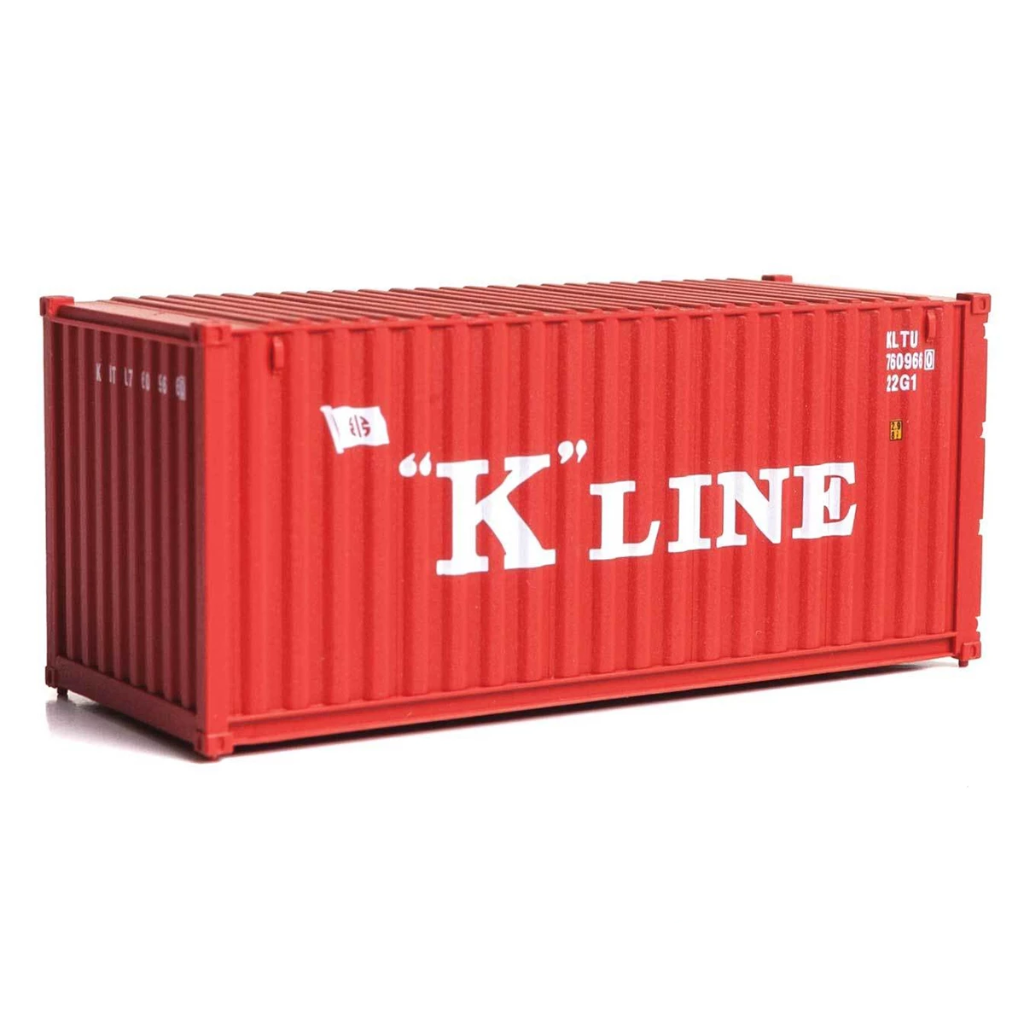 HO Scale: 20' Corrugated Container - K-Line