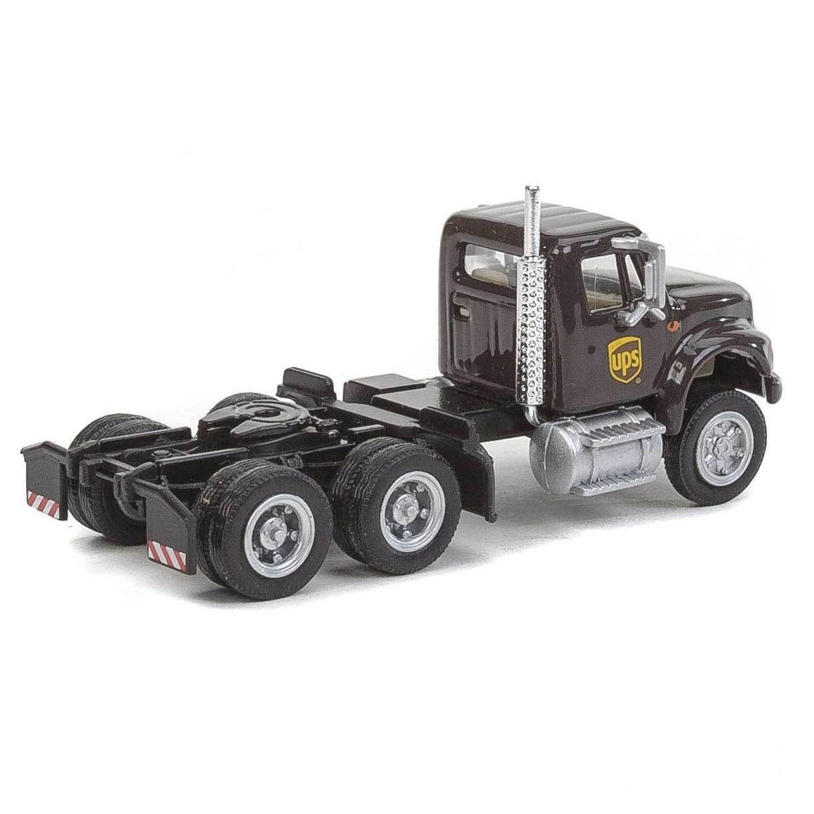 HO Scale: International® 4900 Dual-Axle Semi Tractor - UPS - Modern Logo