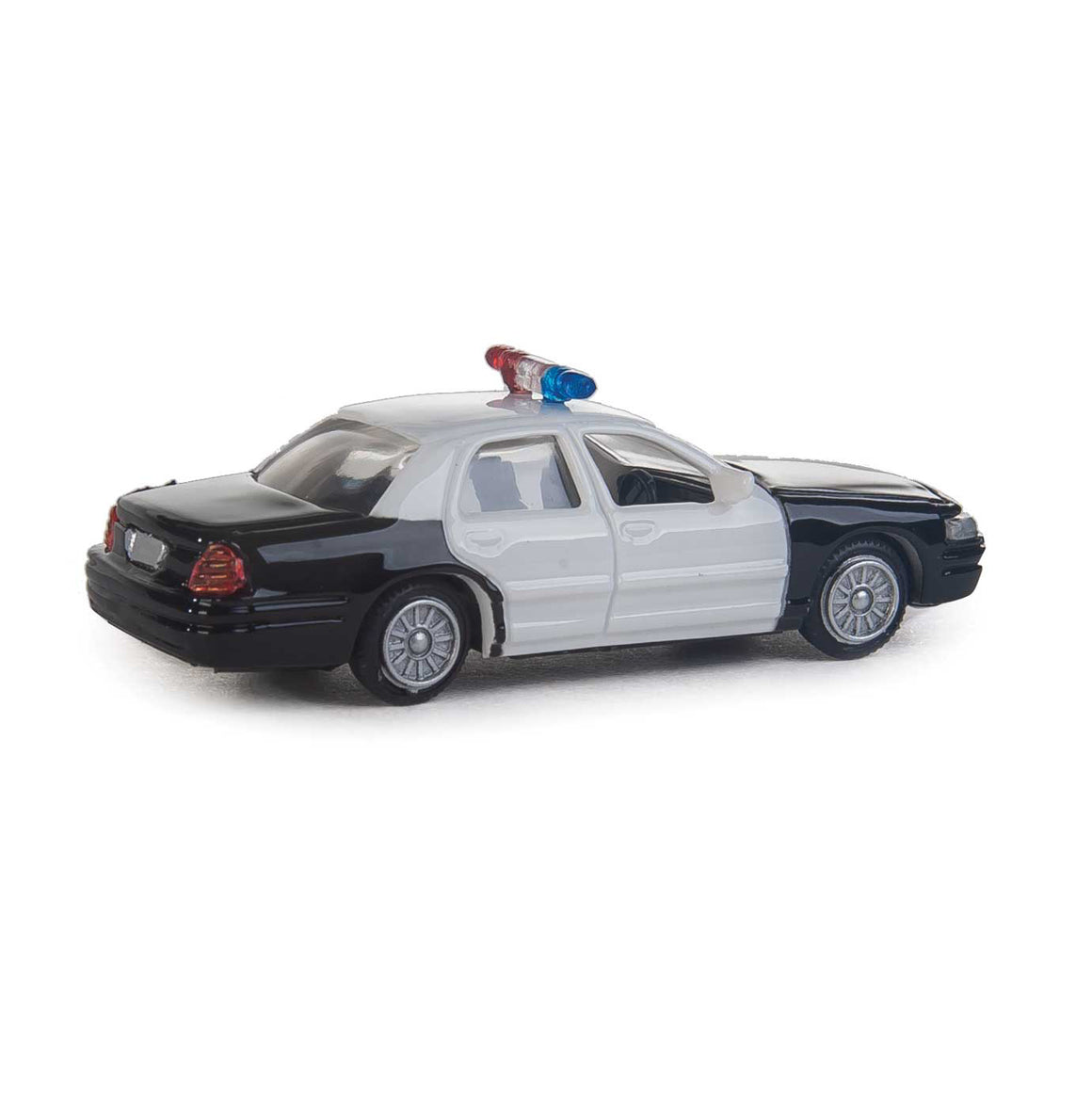 HO Scale: Ford® Crown Victoria Interceptor - Black & White