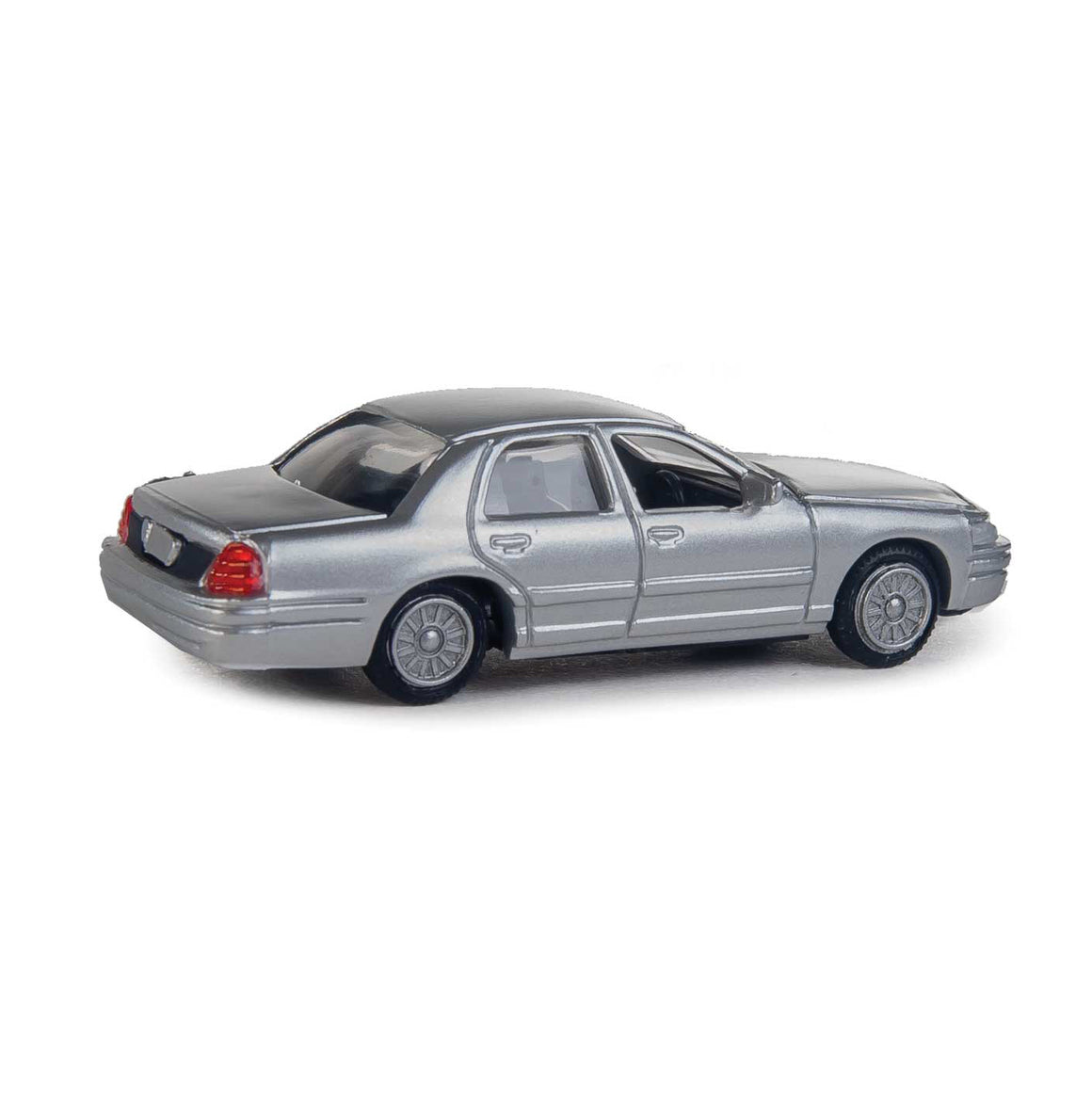 HO Scale: Ford® Crown Victoria Interceptor - Unmarked Silver