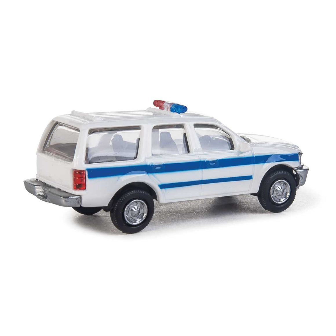 HO Scale: Ford® Expedition Service Vehicle - White & Blue