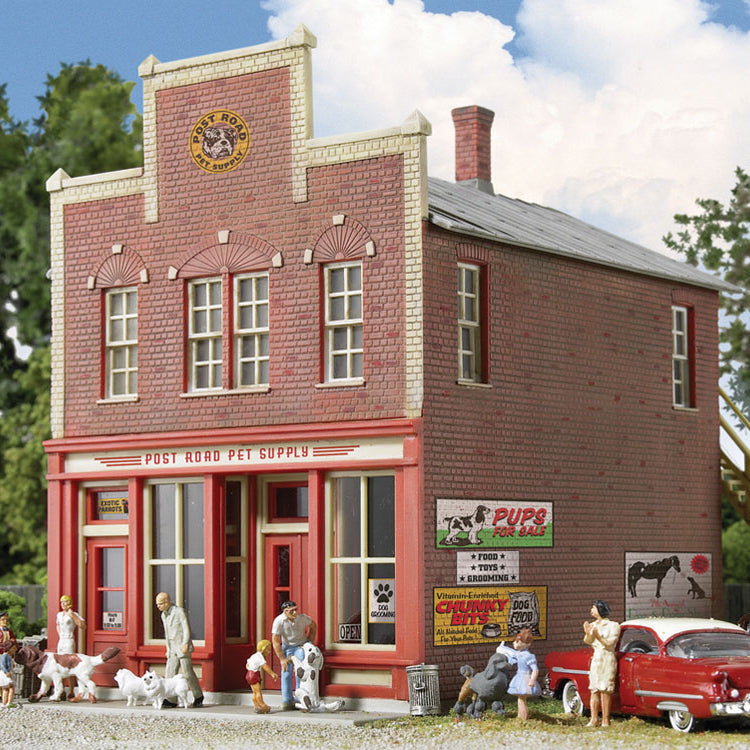 HO Scale: Post Road Pet Supply