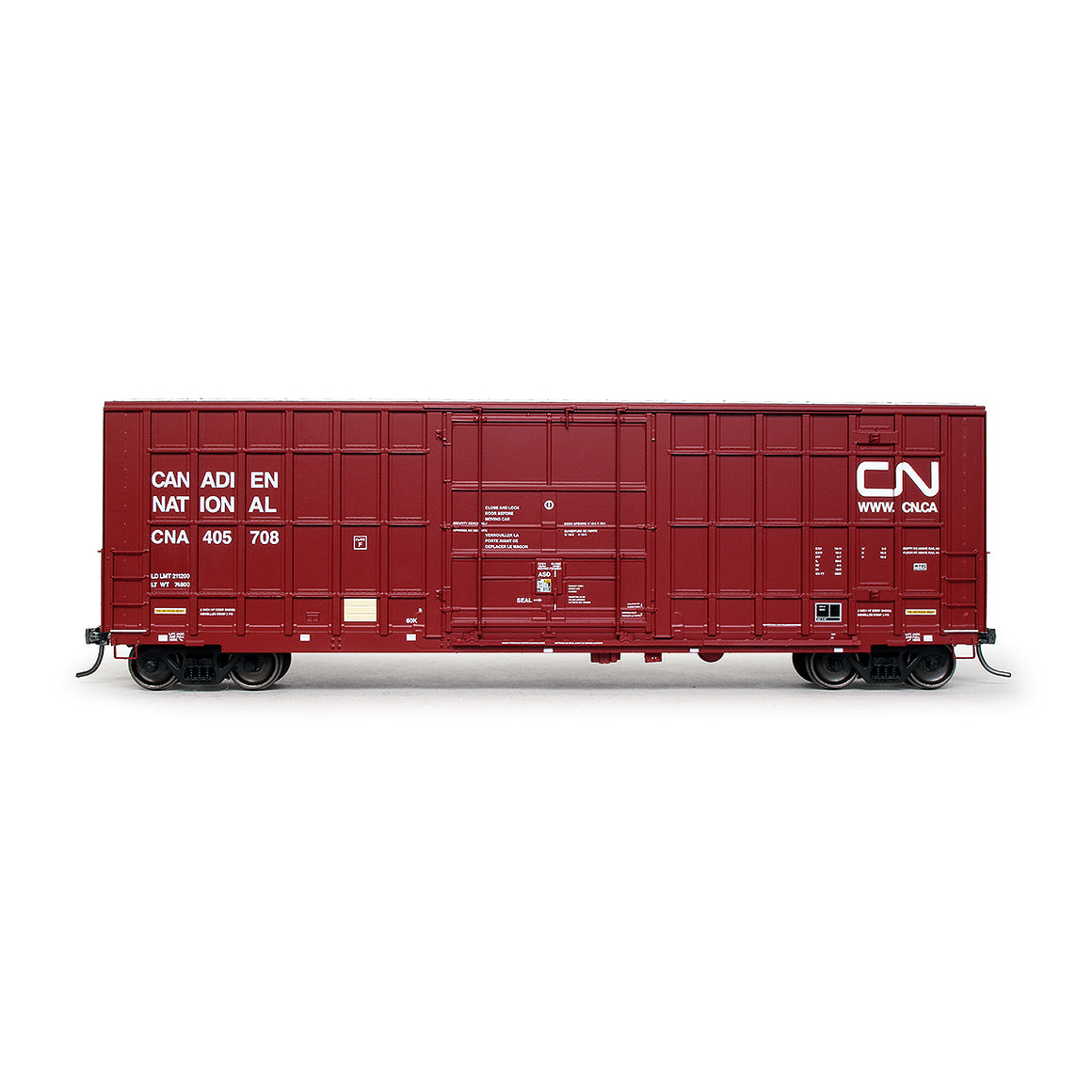 HO Scale: Trinity 6275 Boxcar - Canadian National '2003 As-Delivered'