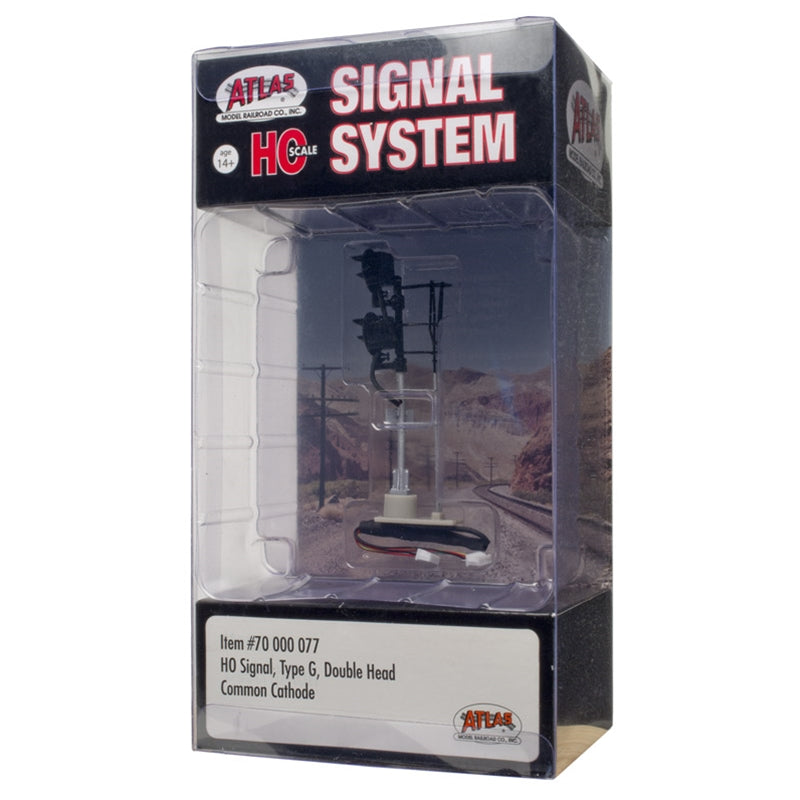 HO Scale: Type G Signal - Double Head