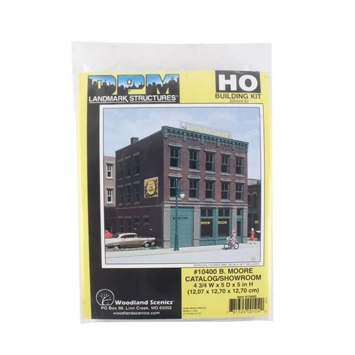 HO Scale: B. Moore Catalog/Showroom - Kit