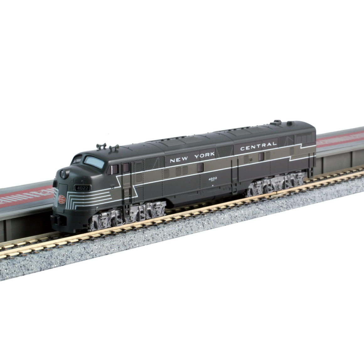 N Scale: 20th Century Limited - EMD E7A 2 Unit Set - DCC Equipped - New York Central