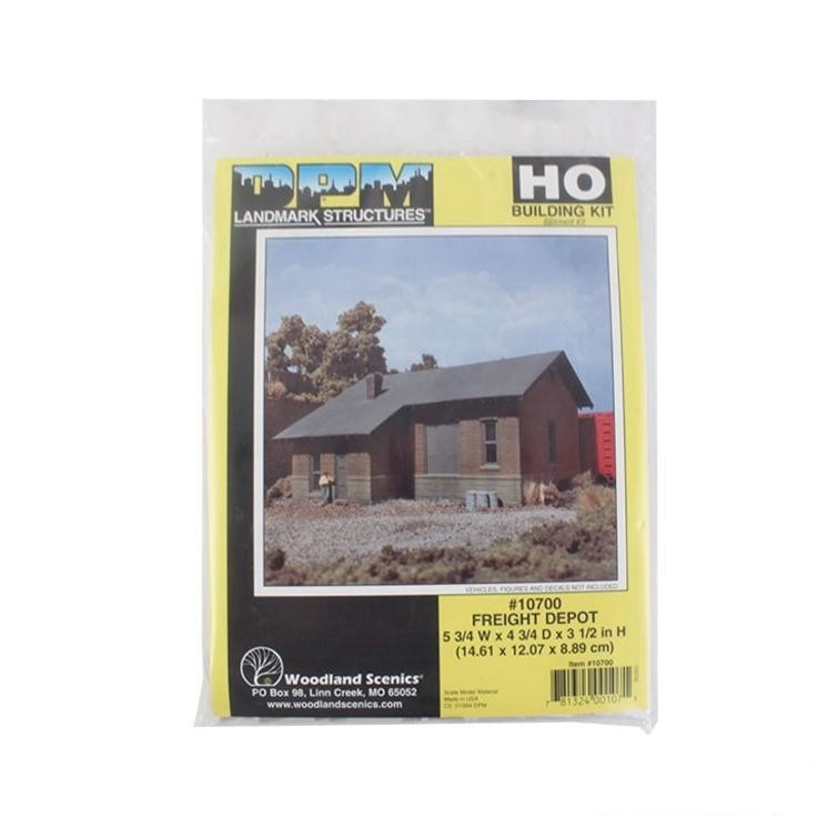 HO Scale: Freight Depot - Kit