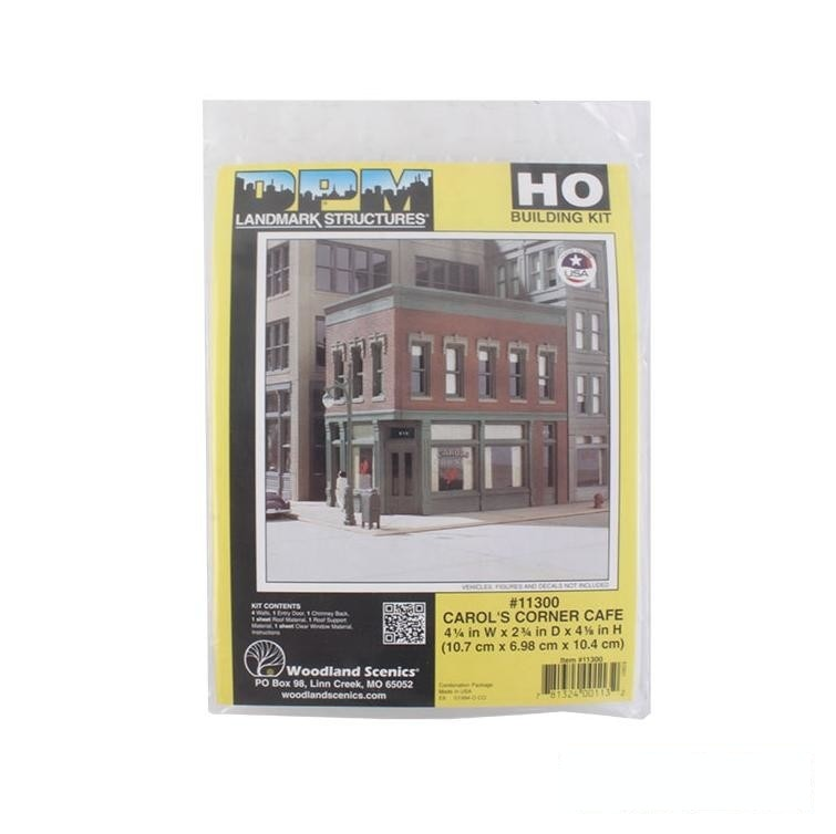 HO Scale: Carol's Corner Cafe - Kit