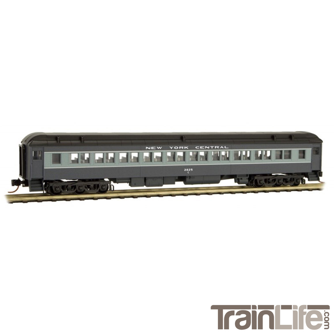 N Scale: 78' Heavyweight Paired-Window Coach - NYC