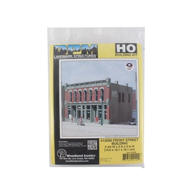 HO Scale: Front Street Building - Kit