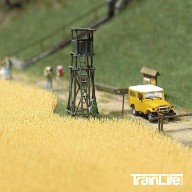 HO Scale: Wheat Field