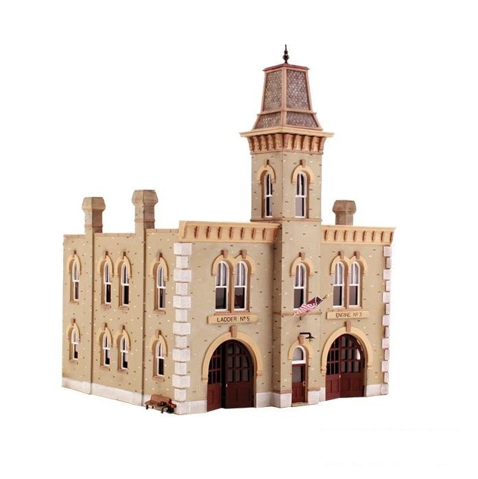 HO Scale: Fire Station No. 3 - Kit
