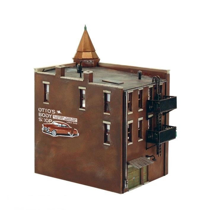 HO Scale: Corner Department Store - Kit