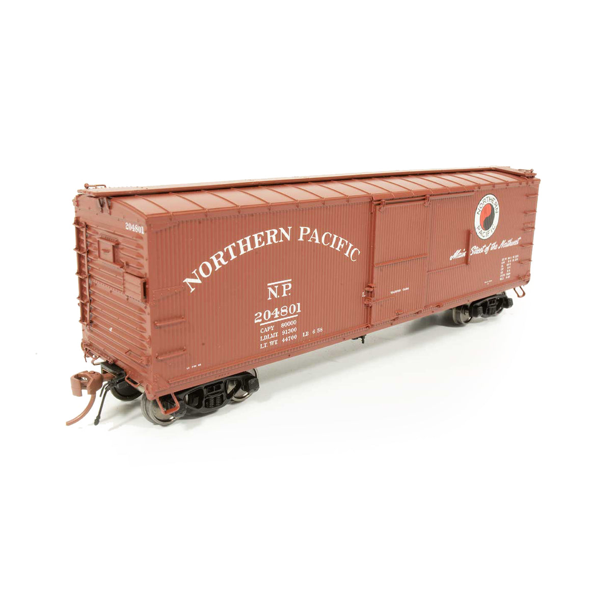 HO Scale: Northern Pacific 10000-Series Boxcar - 'Company Service'