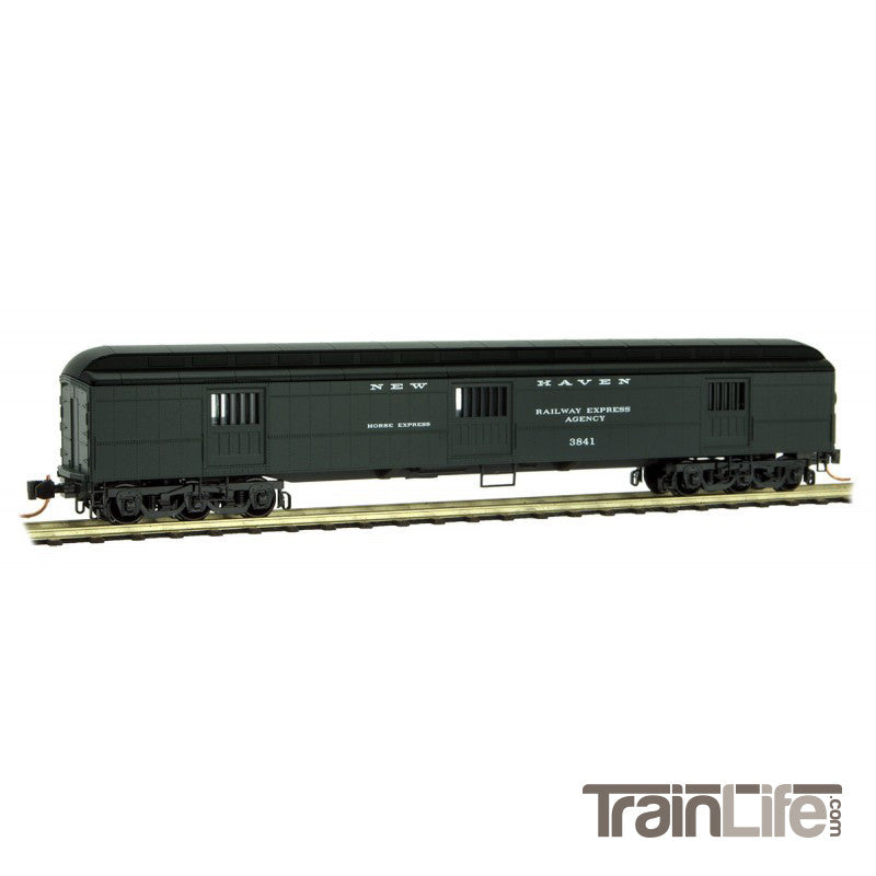 N Scale: 70' Heavyweight Horse Car - New Haven