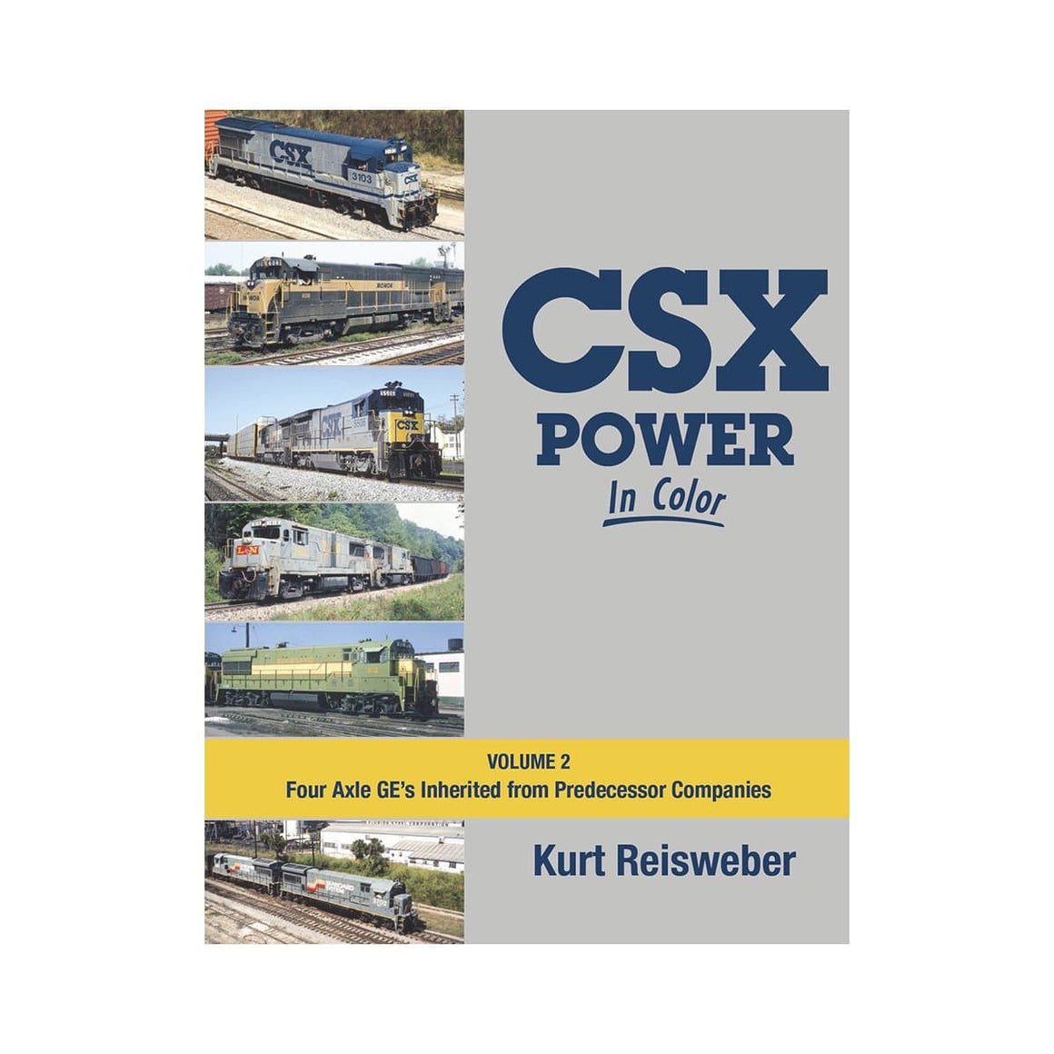 Books: CSX Power In Color - Volume 2