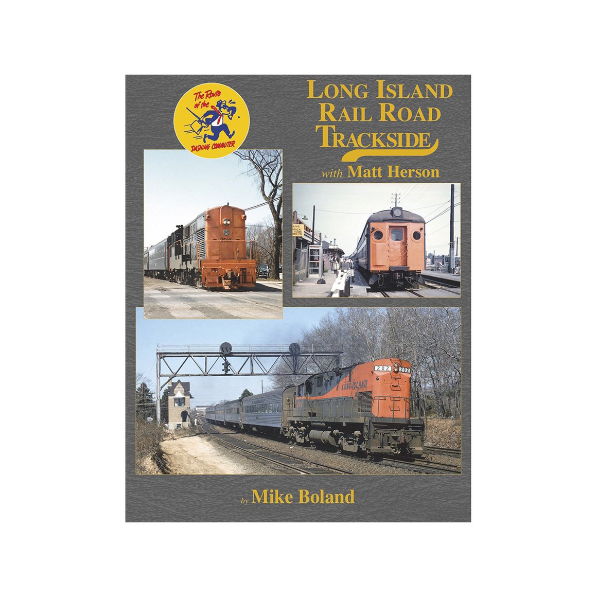 Books: Long Island RR Trackside with Matt Herson
